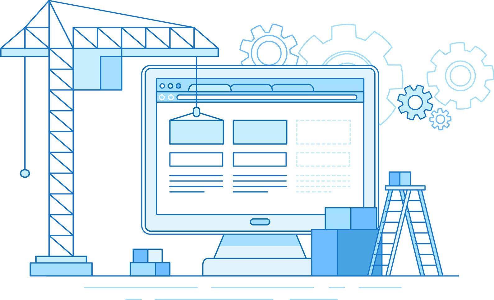 small-web-construction